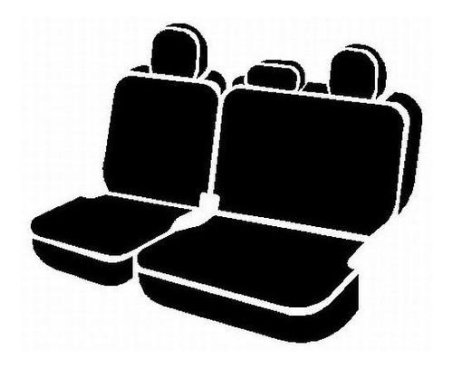 fia sp82-37 funda de asiento trasero negra a medida asiento