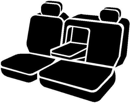 fia sp8217 negro ajuste personalizado asiento trasero asi