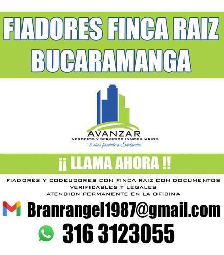 fiadores bucaramanga