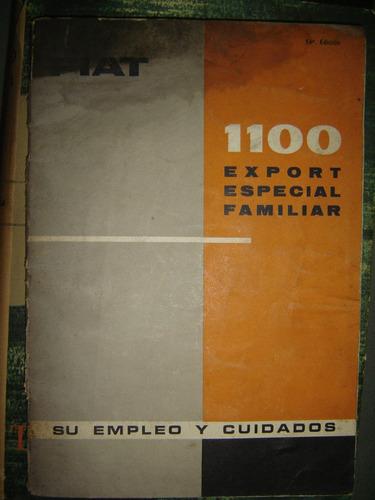 fiat 1100 export especial familiar