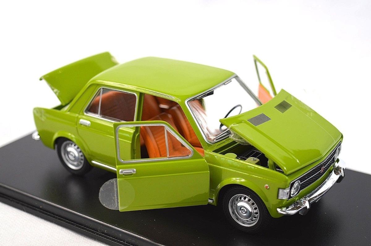 Die cast 1//24 leo models fiat 128 vintage 1969 green auto