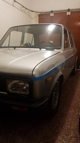 fiat 128 iava tv1300 1980 casco inmaculado con fierros