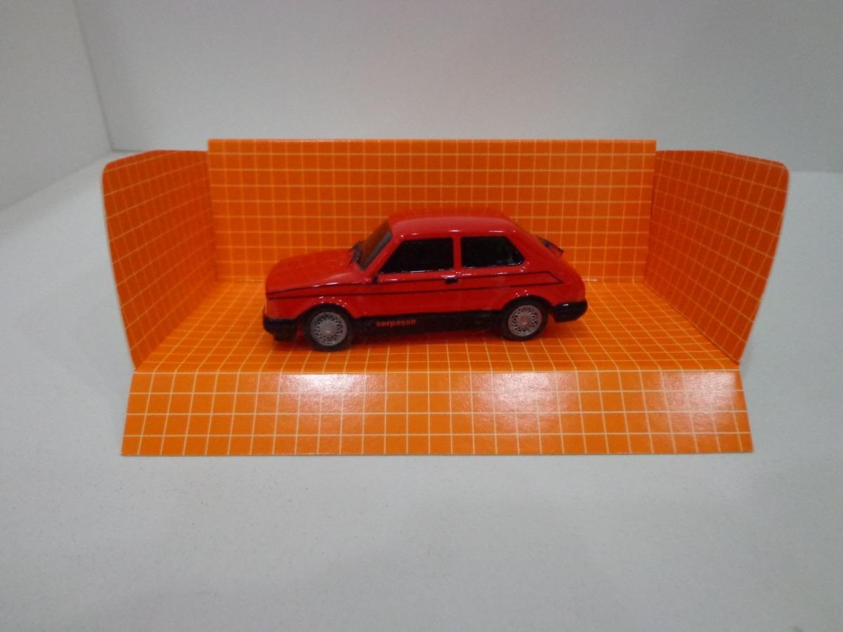 Fiat 147 Sorpasso Rojo Miraloooo 1 43 Alucinante Replica 890