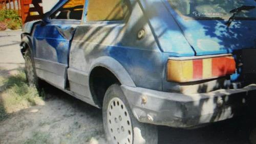 fiat 147 trd 1996 chocado baja con alta de motor.