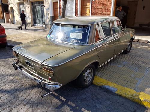 fiat 1500 berlina modelo 1968