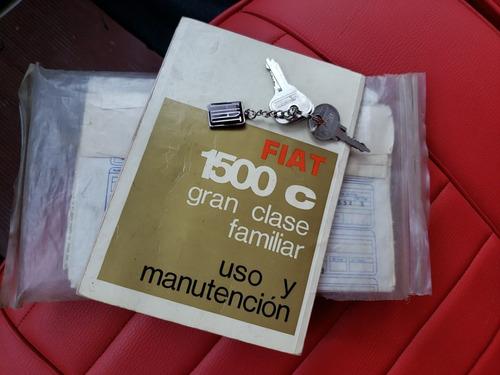 fiat 1500 c 1969 berlina coleccion 1000 milla charliebrokers