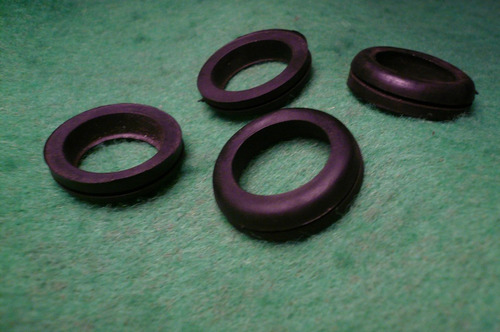 fiat 1500 coupe anillos de goma pasadefensa en uña nuevos