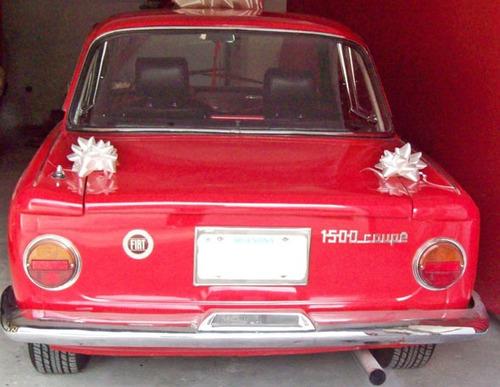 fiat 1500 coupé restaurada a nuevo