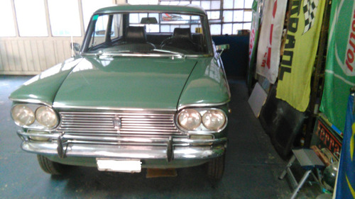 fiat 1500 mod 1969 color verde
