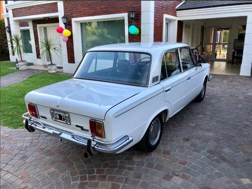 fiat 1600 / 125 año 1970 - antiguo clásico