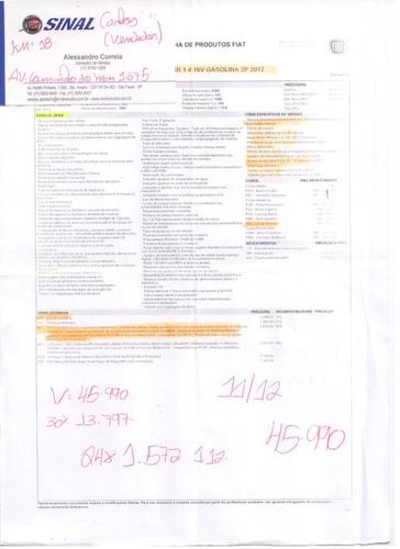 fiat 500 1.4 16v prima edizione 3p sport air - único dono