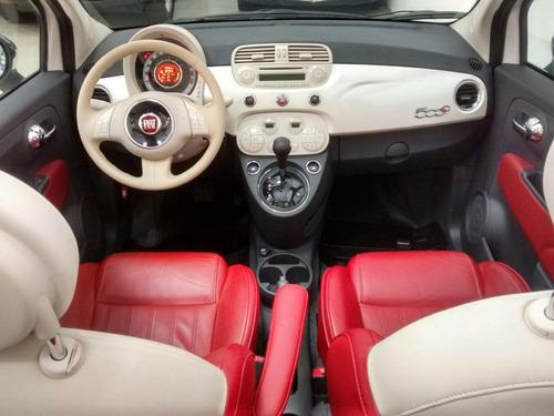 fiat 500 1.4 cabrio 16v flex 2p automático