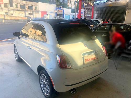 fiat 500 1.4 cabrio automático flex 2015