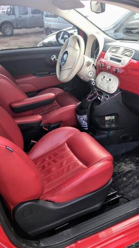 fiat 500 1.4 lounge 105cv aut. cuero 2015