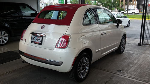 fiat 500 1.4 lounge convertible mt