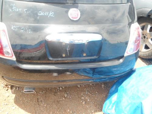 fiat 500 2012 mecanica lataria vidros acessórios rodas