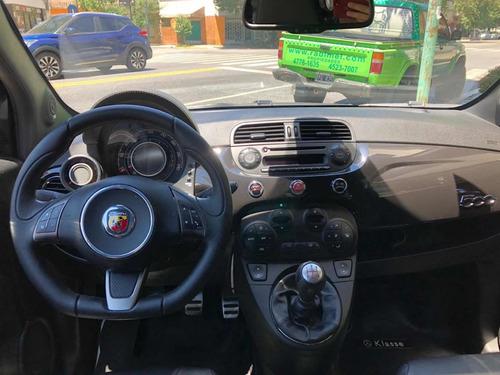 fiat 500 2013 1.4 abarth 135cv negro cassano automobili