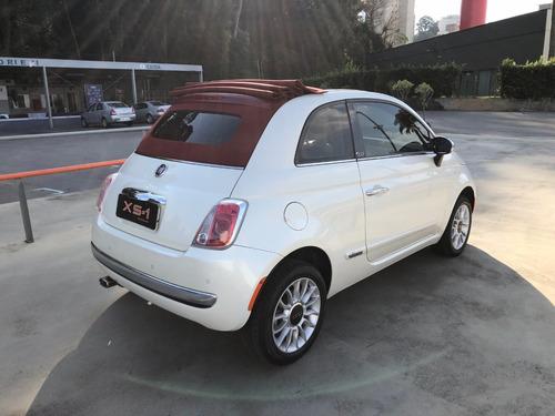 fiat 500 2014, cabriolet, conversível, automático, 1.4 flex