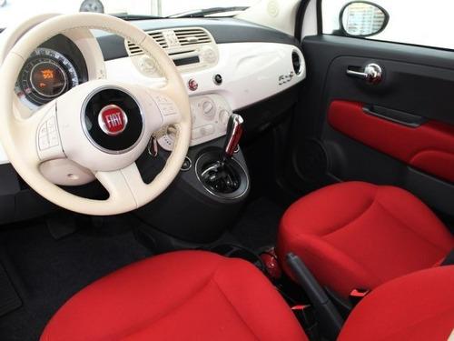 fiat 500 cabrio dualogic 1.4 8v flex, pvd4555
