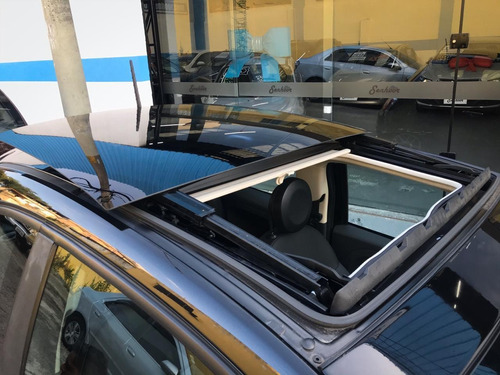 fiat 500 cult 1.4 automático + teto solar preto - 2014
