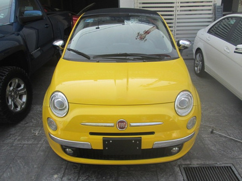 fiat 500c lounge convertible impecable 2016