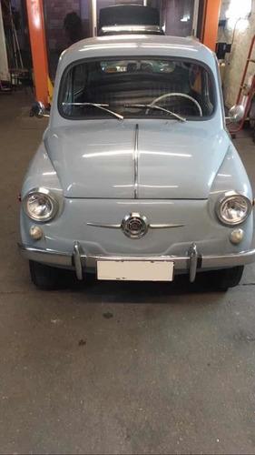 fiat 600 d  restaurado italiano año 1965