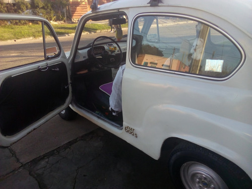 fiat 600 impecable blanco motor 850