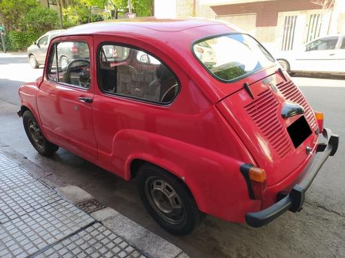 fiat 600 s / nafta / 1980