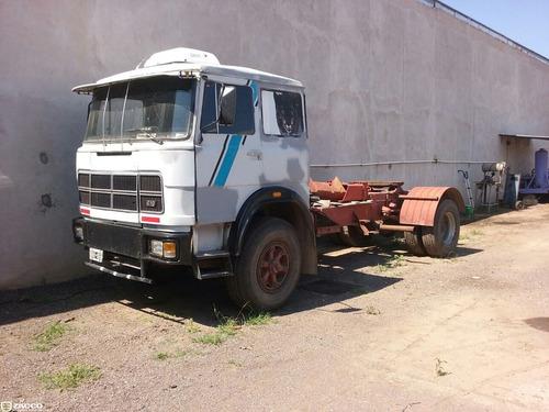 fiat 619 84 8marchas tractor con plato y chasis - detalles