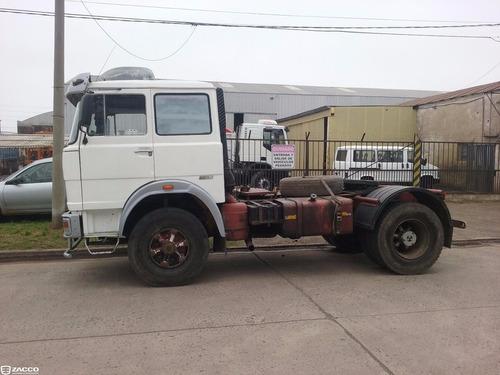 fiat 619 85 8m tractor excelente -entrega+ctas-zaccocamiones
