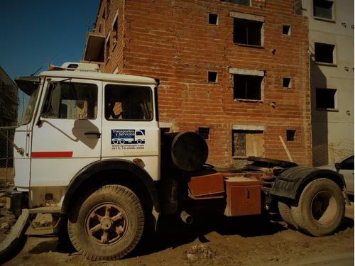 fiat 619 n1 - camion tractor - muy cuidado - caja fuller