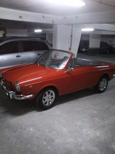 fiat 800 coupe spider. modelo 1968.