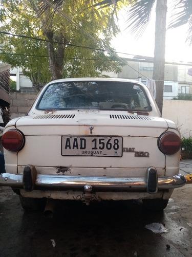 fiat 850 sedan 2 puertas