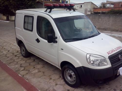 fiat ambulancia doblo 2013  ar condicionado 1.8 flex