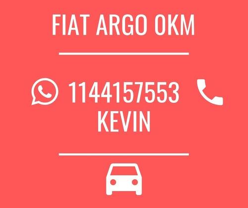 fiat argo 1.8 o 1.3 2020 0km - tomo usado - gnc opcional *