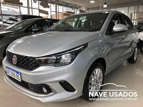 fiat argo drive 1.3 2017 0km color gris 4 puertas