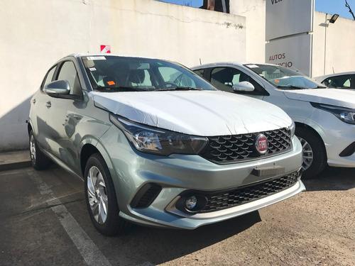 fiat argo drive 1.3 2018 0km gris 5 puertas financiado°