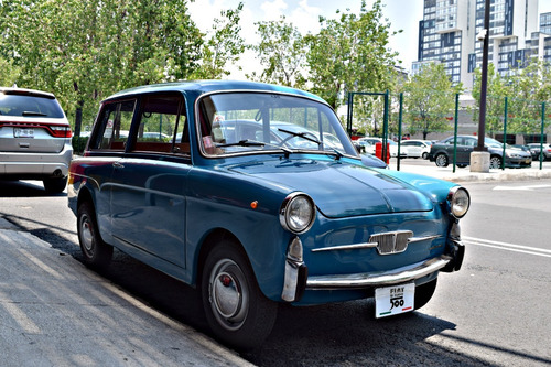 fiat autobianchi 500 giard 1968