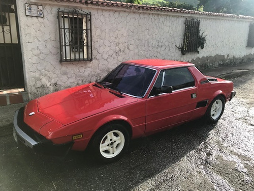 fiat bertone x 1/9 motor 1.5 cc rojo 2 puertas