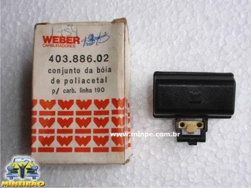 fiat bóia carburador 190  - gasolina  -2493-14b8