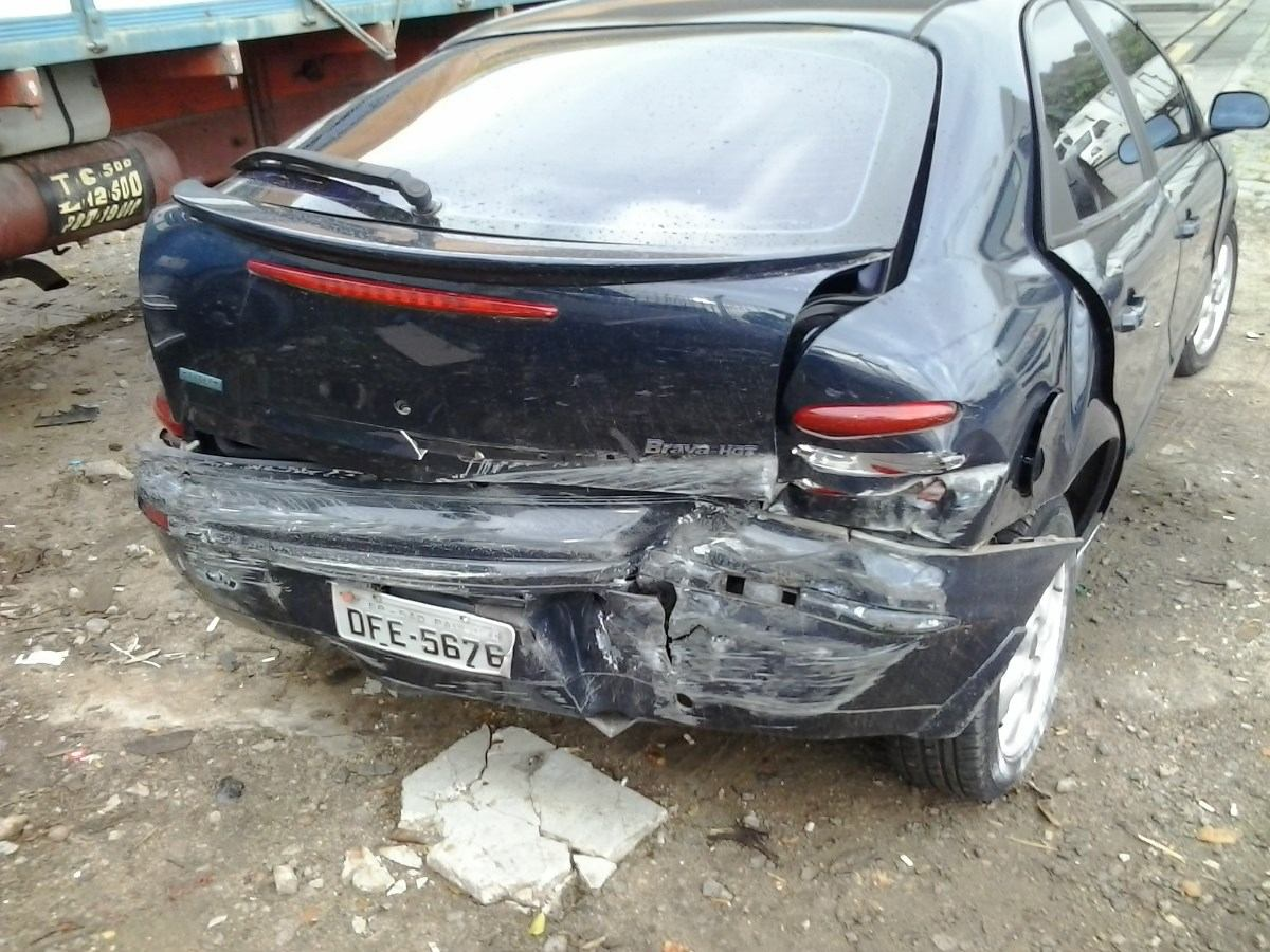 Fiat Brava Hgt 1 8 16v Sucata P 233 231 As Em 211 Timo Estado R