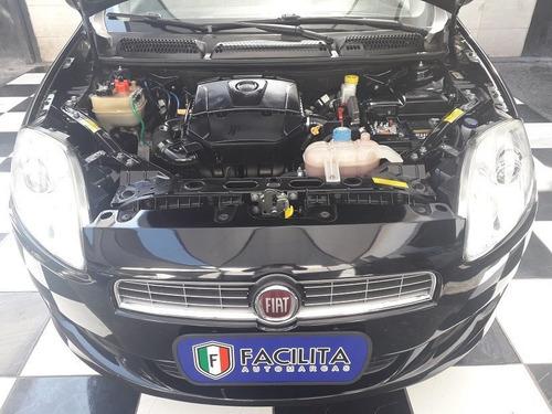 fiat bravo 1.8 essence flex com couro bege e kit multi midia
