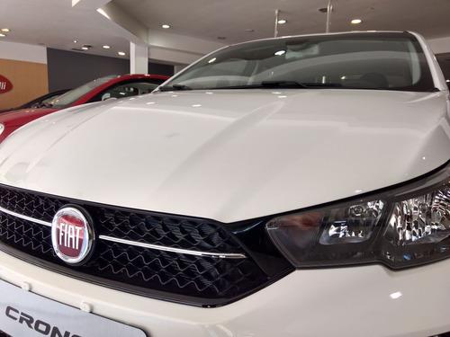 fiat cronos 1.3 drive anticipo $90000 saldo financia fiat 0%