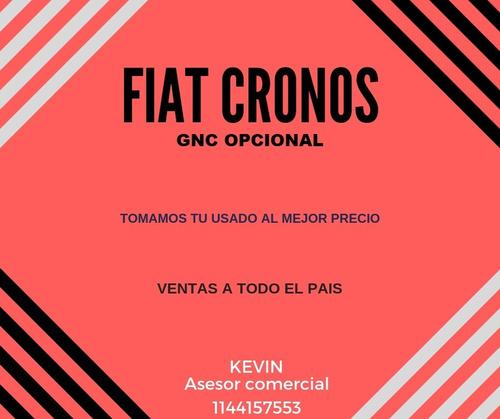 fiat cronos drive 1.3 0km 2020 - gnc o nafta - tomo usado *