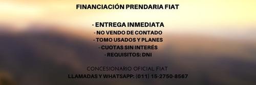 fiat cronos entrega inmediata a $89.600 tasa 0% en pesos a-
