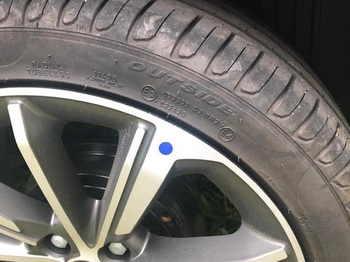 fiat / cronos precision 1.8 automático - vermelho marsala