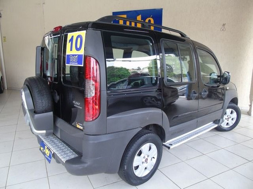 fiat doblò adventure locker 1.8 mpi 8v flex, ejs9769