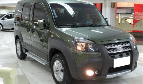 fiat doblo adventure xingu 1.8 verde 16v flex 5p manual 2014