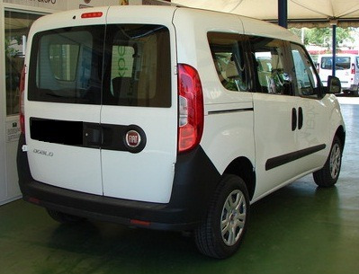 fiat doblo furgon/ vidriada - anticipo 89.000 o tu usado - l