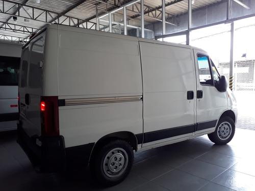 fiat ducato 03 lugares furgão t.b com ar frontal 2014